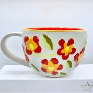 Starbucks 2008 flowery mug